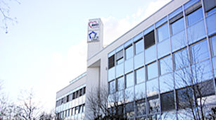 Die AWO - Das Bild zeigt die AWO Geschäftsstelle von außen